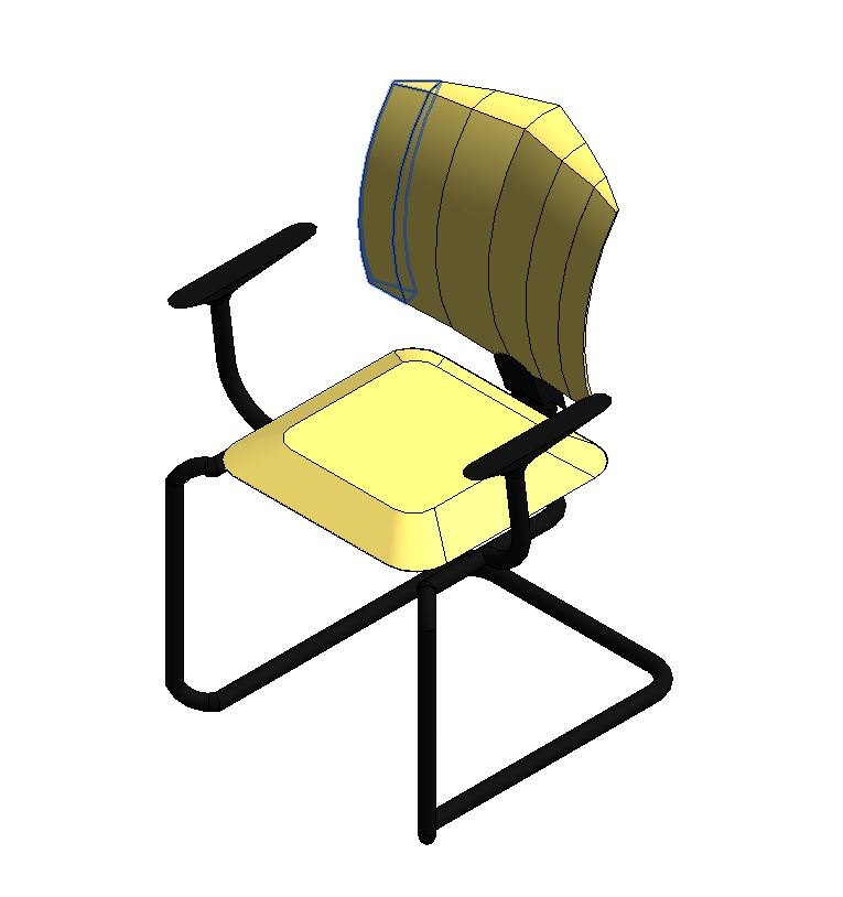 Chair 3D View